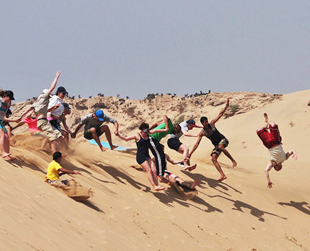 Group Student Surf Holiday Morocco