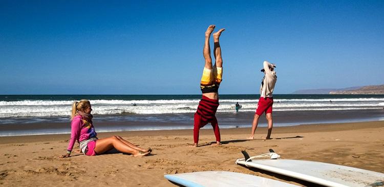 Yoga Surf Retreats Holiday Morocco