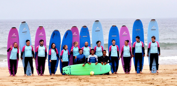 Group Student Surf Holiday Morocco