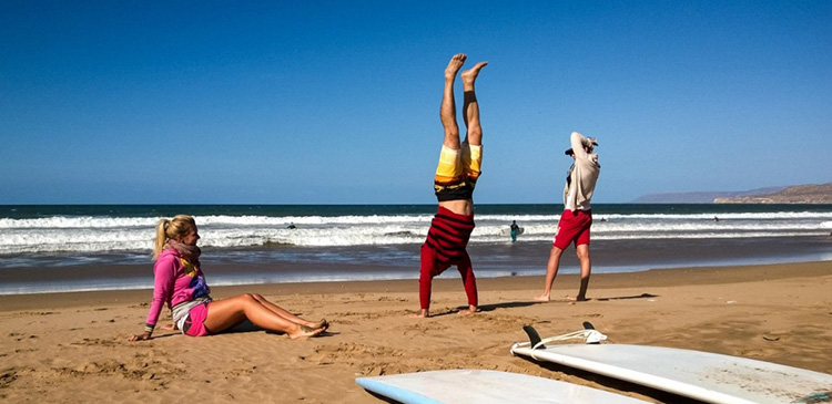 Yoga Surf Retreats Holiday Morocco