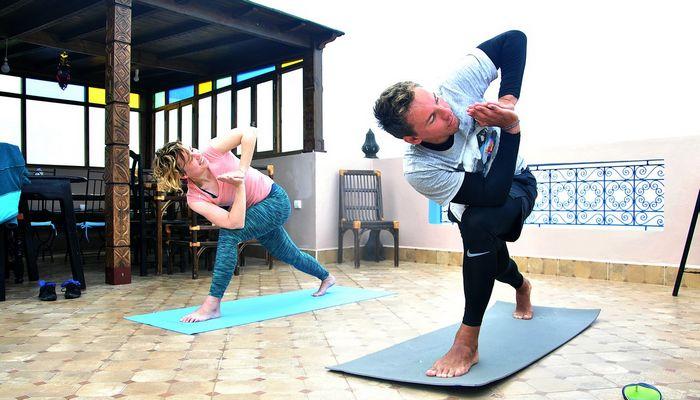 yoga and Surf retreat morocco